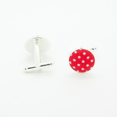Noeud Papillon Rouge à Mini Pois