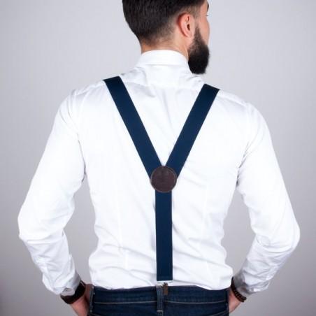 Navy large suspenders