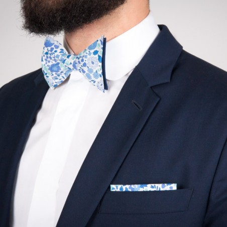 Pochette de costume Liberty Capel Bleu Marine
