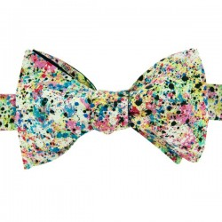 Multicoloured Graffiti Liberty Bow Tie