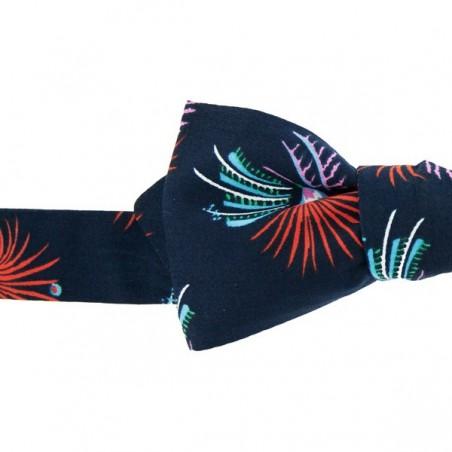 Bronze Phoenix Japanese Bow Tie