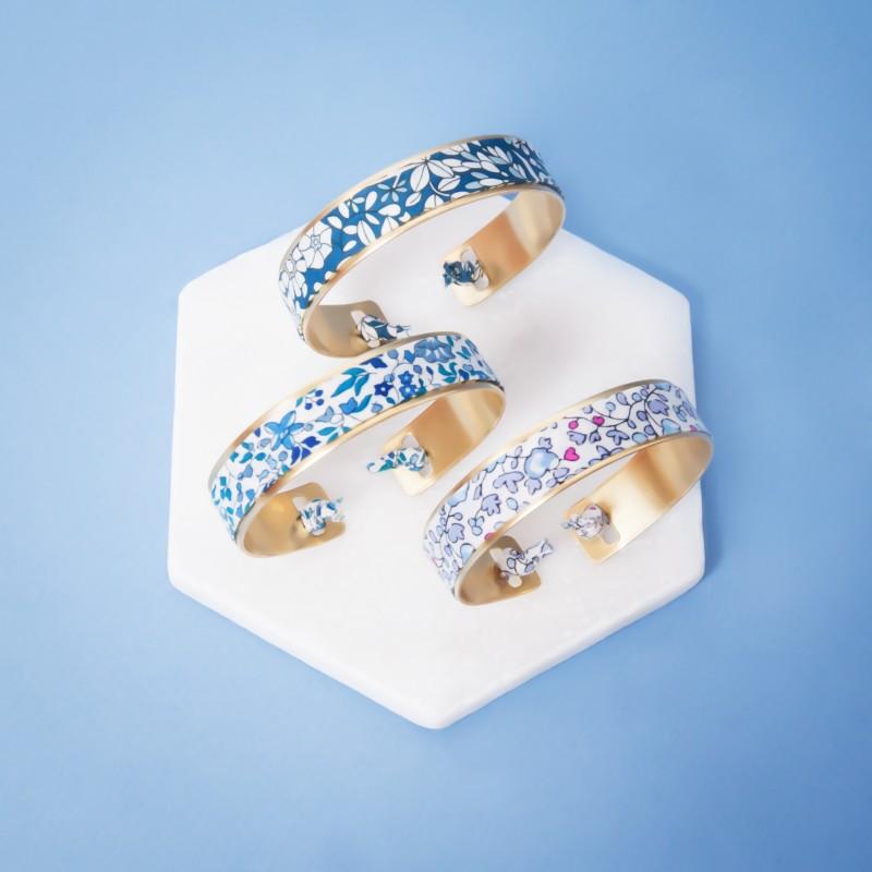 bracelet laiton tissu pour vos t moins le colonel moutarde. Black Bedroom Furniture Sets. Home Design Ideas