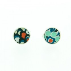 Blue Pepper Liberty cufflinks