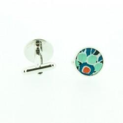 Blue Pepper Liberty cufflinks