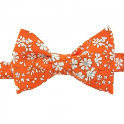 Noeud Papillon Liberty Capel Orange