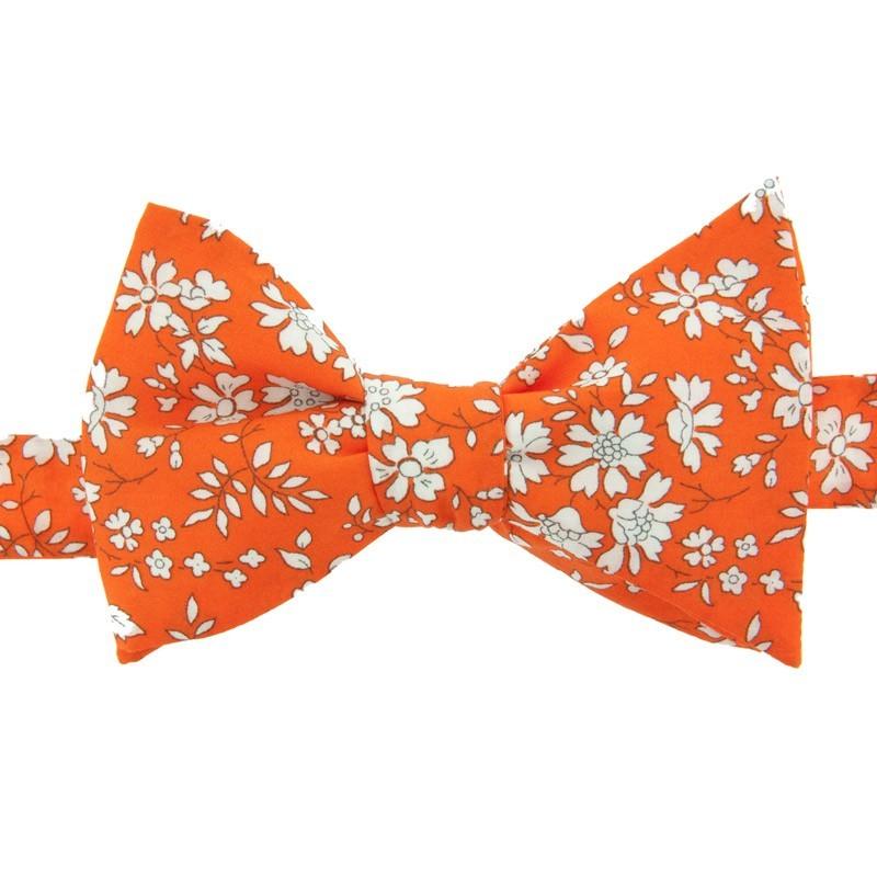f2d9a94444ca4 Noeud papillon Liberty Capel orange
