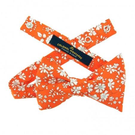 Noeud Papillon Liberty Capel Orange