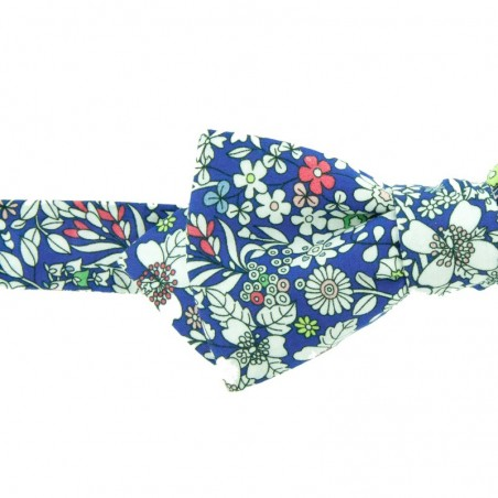 Noeud Papillon Liberty  June Meadow Bleu Dur