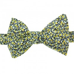Yellow Pepper Liberty Bow Tie