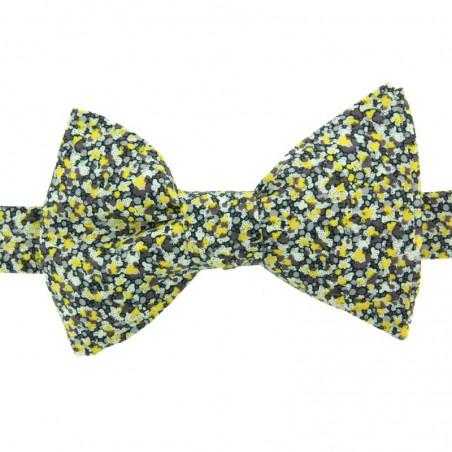 Noeud Papillon Liberty Pepper Jaune
