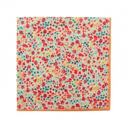 Corail Phoebe Liberty pocket square