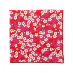 Fushia Mitsi Liberty pocket square