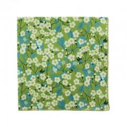 Green Mitsi Liberty pocket square