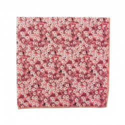 Pink Mitsi Valeria Liberty pocket square