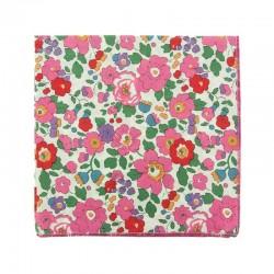 Pink Betsy Liberty pocket square
