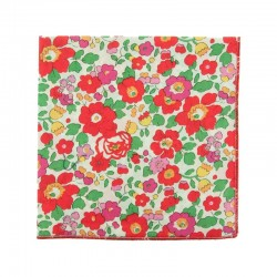 Red Betsy Liberty pocket square