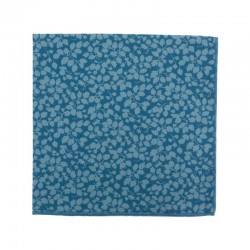 Blue Double Glenjade Liberty pocket square