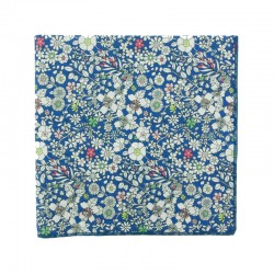 Royal blue June Meadow Liberty pocket square
