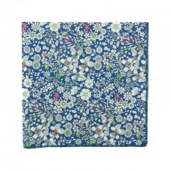 Royal blue June Meadow Liberty pocket square