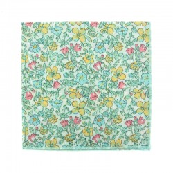 Mint Meadow Liberty pocket square