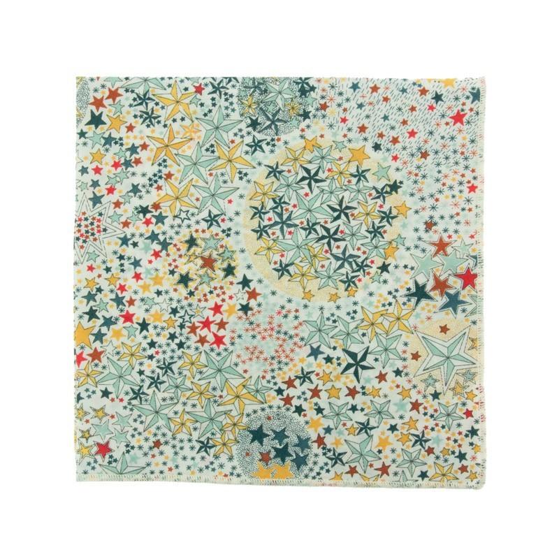 Multicoloured Adeladja Liberty pocket square