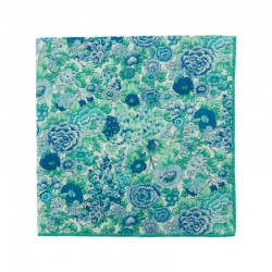 Mint Elysian Liberty pocket square