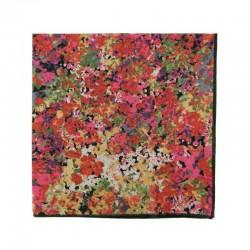 Orange Renoir pocket square