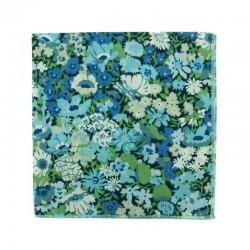 Pochette de costume Liberty Thorpe Bleu / Vert