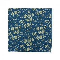 Medium Blue Capel Liberty pocket square