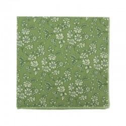 Green Capel Liberty pocket square