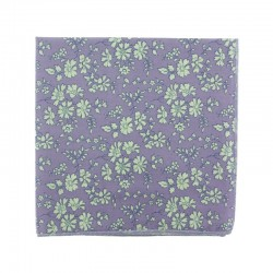 Purple Capel Liberty pocket square