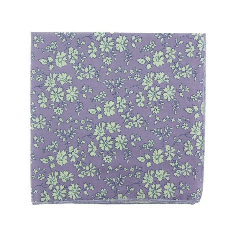 Purple Capel Liberty pocket square