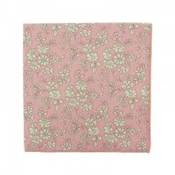 Baby Pink Capel Liberty pocket square