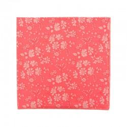 Pochette de costume Liberty Capel Fluo Rose / Corail