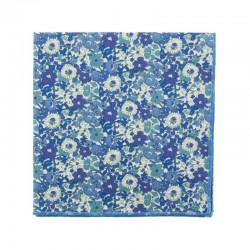 Blue Cavendish Liberty pocket square