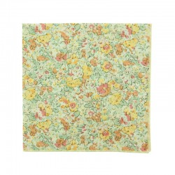 Light Yellow Claire Aude Liberty pocket square