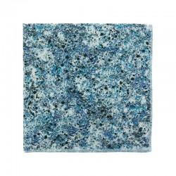 Blue Grafitti Liberty pocket square