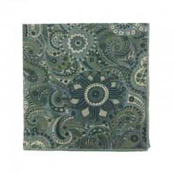 Grey Cashmere Liberty pocket square