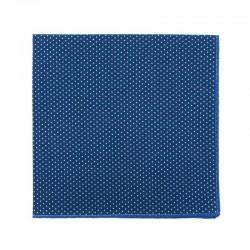 Pochette de costume Mini Pois Bleu Moyen