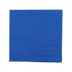 Pochette de costume Mini Pois Bleu dur
