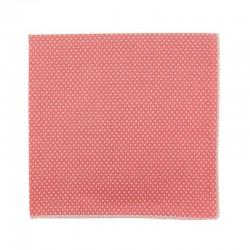 Pochette de costume Mini Pois Rose Moyen