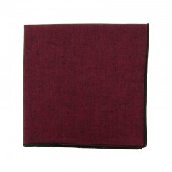 Burgundy Phoenix Japanse pocket square