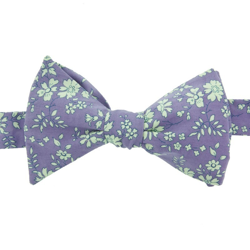 Purple Capel Liberty Bow Tie
