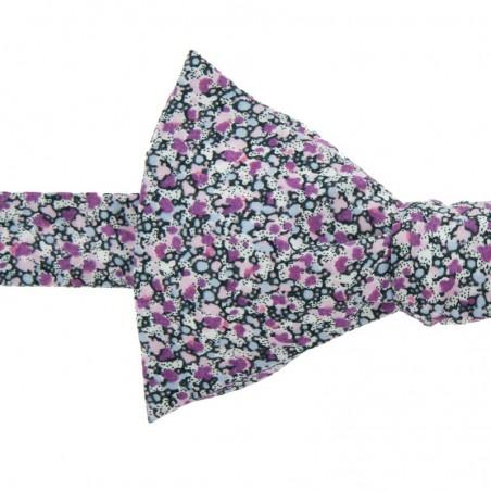Noeud Papillon Liberty Violet Pepper