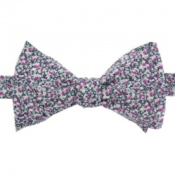 Purple Pepper Liberty Bow Tie
