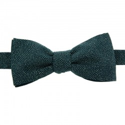 Navy Blue Samekomon Japanese Bow Tie