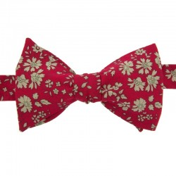 Burgundy Red Capel Bow Tie