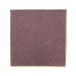 Purple SamekomonJapanese pocket square