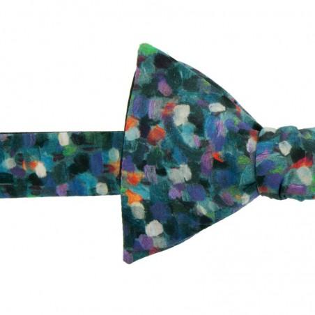 Noeud Papillon Liberty Monet Vert