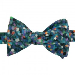 Green Monet Liberty Bow Tie